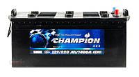 Аккумулятор Champion Black 220Ah/ пусковой ток 1400A / гарантия 2 года