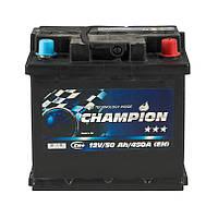 Аккумулятор Champion Black 50Ah/ пусковой ток 450A / гарантия 2 года