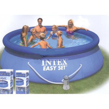 Бассейн большой надувной Intex Easy Set Pool 28120, фото 2