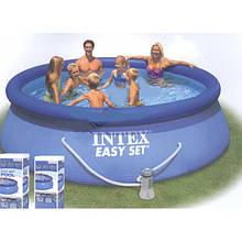 Бассейн большой надувной Intex Easy Set Pool 28120