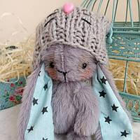 Авторская мягкая игрушка на сувенир Кролик тедди