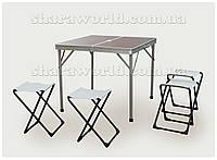 Набор для пикника (стол + 4 стула) № 1, фото 1