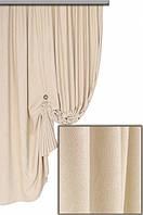 Ткань для штор Пальмира молочная , Турция
