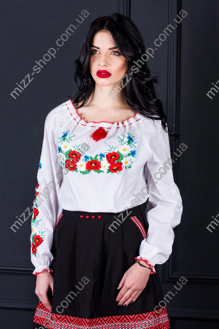 Женская стильная вышиванка