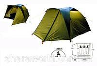 Палатка трехместная Coleman Х-1011, фото 1