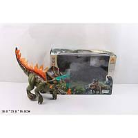 Реалистичная динозавр игрушка 60096, свет, звук, ходит, в коробке 36х23х15 см