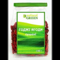 Годжи ягоды сушеные, 100 г, NATURAL GREEN