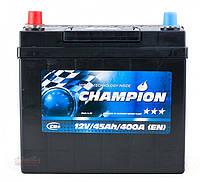 Аккумулятор Champion Black Japan 45Ah/ пусковой ток 400A / гарантия 2 года