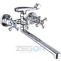 Смеситель двухвентильный Zegor T65-DTZ-A827