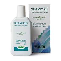 Органический шампунь для жирных волос против перхоти
