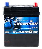 Аккумулятор Champion Black Japan 40Ah/ пусковой ток 330A / гарантия 2 года
