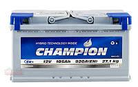 Аккумулятор Champion 105Ah/ пусковой ток 920A / гарантия 2 года