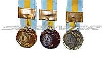 """Медаль с лентой """"Украина"""""""