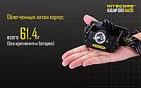 Фонарь налобный Nitecore HA20 (Cree XP-G2, 300 люмен, 10 режимов, 2хAA)