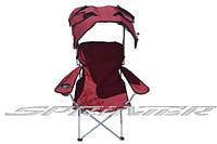 Кресло с навесом и подлокотниками