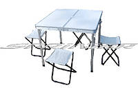 Набор мебели: стол  + 4 стула