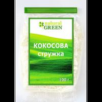 Кокосовая стружка, 100 г, NATURAL GREEN