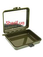 Контейнер  водонепроницаемый с зеркалом Olive MIL-TEC 16028100