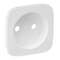 Лицевая панель для розетки без заземления, Legrand Valena Allure Белый