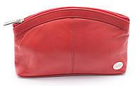 Красная женская косметичка  Swan art. Б/Н большая