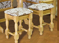 Табурет  деревянный мягкий (2шт) 450х400х300мм    Мебель-Сервис