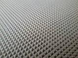 Резина набоечная ПИРАМИДА (Украина), р. 500*500*7мм, цв. чёрный, фото 2