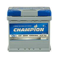 Аккумулятор Champion 50Ah/ пусковой ток 430A / гарантия 2 года