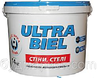 Снєжка Ультра бель 14 кг (10 л)