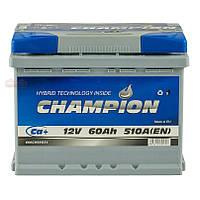 Аккумулятор Champion 60Ah/ пусковой ток 510A CHG60-0