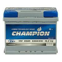 Аккумулятор Champion 65Ah/ пусковой ток 640A / гарантия 2 года