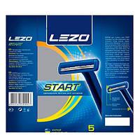 LEZO Start 2 одноразовый мужской станок для бритья 5 шт