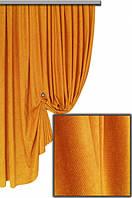 Ткань для штор Пальмира оранжевая , Турция