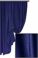 Ткань для штор Пальмира синяя , Турция