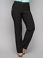 Брюки классика 6075, классические женские брюки, черные брюки женские,  дропшиппинг украина