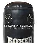 Мешок боксерский кожа (140х33 см, вес 35 кг) , фото 2
