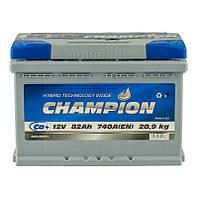 Аккумулятор Champion 82Ah/ пусковой ток 740A / гарантия 2 года