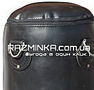 Мешок боксерский кожа (140х33 см, вес 35 кг) , фото 3
