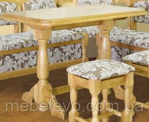7269c0d50 Купить Стол обеденный деревянный 750х1000х600мм Мебель-Сервис в ...