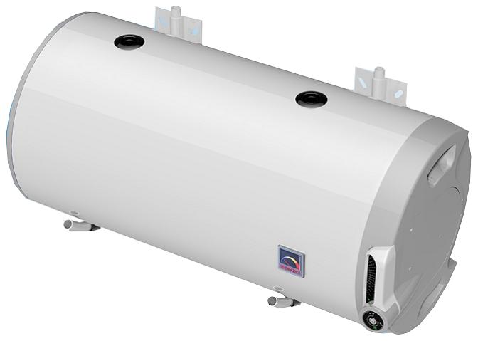 Комбинированный бойлер горизонтальный (с теплообменником та электрическим ТЭНом)  DRAZICE OKCV 125 (2016) .