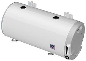 Комбинированный бойлер горизонтальный (с теплообменником та электрическим ТЭНом)  DRAZICE OKCV 125 (2016) . , фото 2
