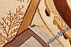 """Рельефный овальный ковер Нидал """"Змейка"""", цвет бежевый, фото 3"""