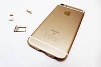 Корпус iPhone 5S в стиле iphone 6 gold, фото 1
