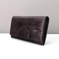 Темно-коричневый кошелек Desisan женский кожаный, фото 1