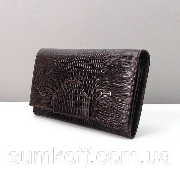 bc904fcbd456 Темно-коричневый кошелек Desisan женский кожаный: продажа, цена в ...