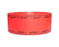 Лента флористическая траурная - №1 (5 см х 100 м) красная