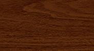Плинтус 293 Орех темный - серии Элит-Макси Идеал с 3 кабель-каналами 85 мм