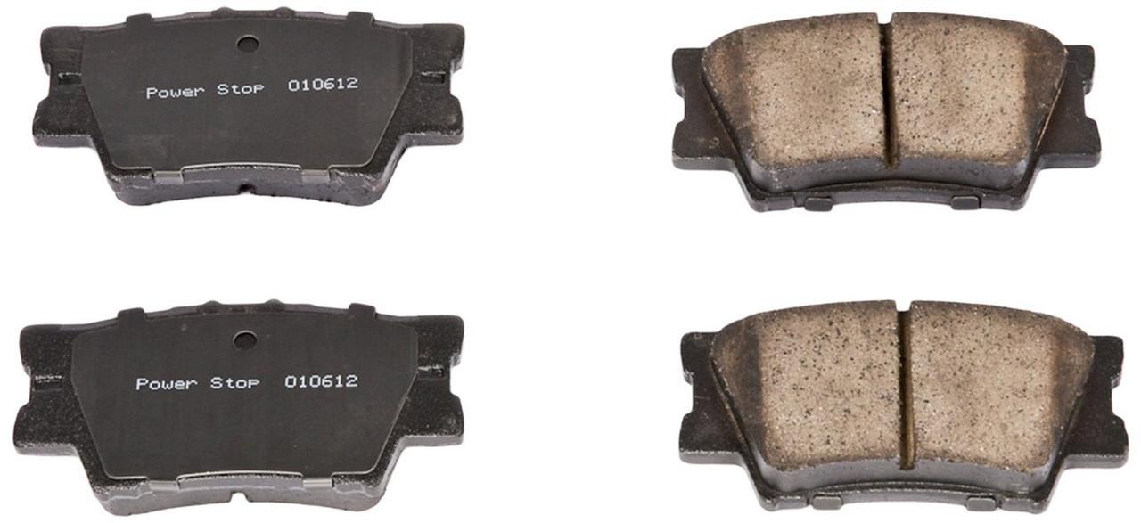 Колодки тормозные задние POWERSTOP 16-1212 для Toyota camry 40 ; 50