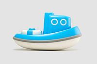 """Игрушка для игры в воде """"Кораблик"""" (цвет голубой), Kid О"""