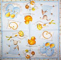 Салфетка для декупажа Новорожденный 1322
