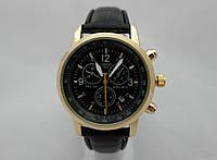 Мужские часы  TISSOT PRC200  кварцевые, корпуса золотистый, циферблат черный